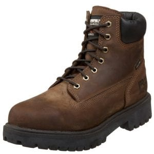 "Best Cold Weather Work Boots For Winter 1) Timberland PRO Direct Attach 8"" Insulated Work Boots for Winter"
