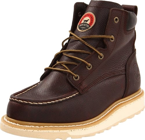 best work boots for standing all day Irish Setter 83606 Aluminum Toe Work Boots