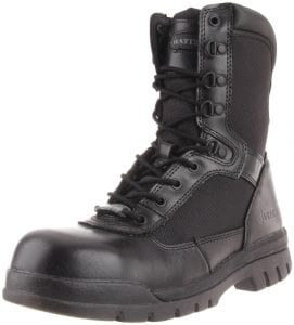 Best Ems Work Boots For Paramedics 1) Bates 8 Inch Safety Enforcer Uniform Work Boots