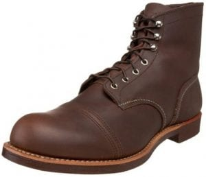 best american made work boots The Most Long-Lasting American Made Work Boots: Red Wing Heritage Iron Ranger 6-Inch Boot