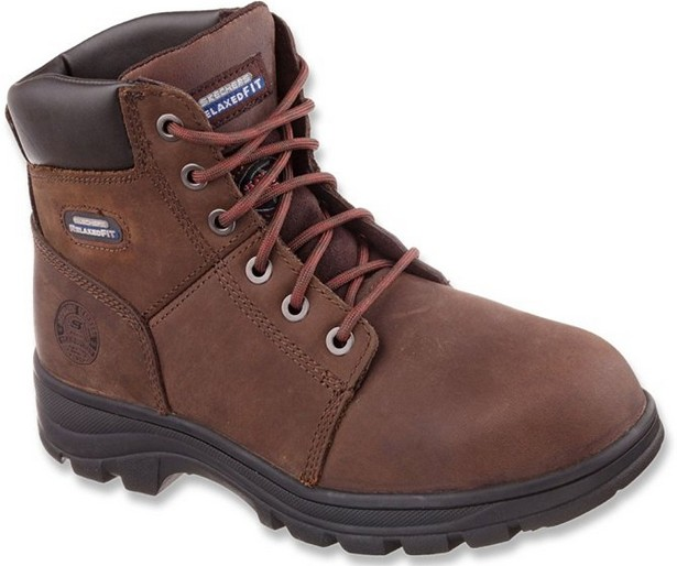 skechers best quality cheap work boots