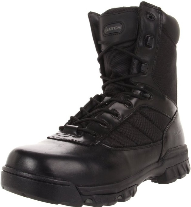 Best Ems Work Boots For Paramedics 3) Bates Ultra-Lites Tactical Sport Side-Zip Work Boots