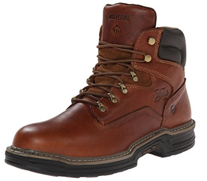 "Best Shoes For Warehouse Pickers 6) Wolverine Raider Steel-Toe 6"" Work Shoes for Warehouse Pickers"
