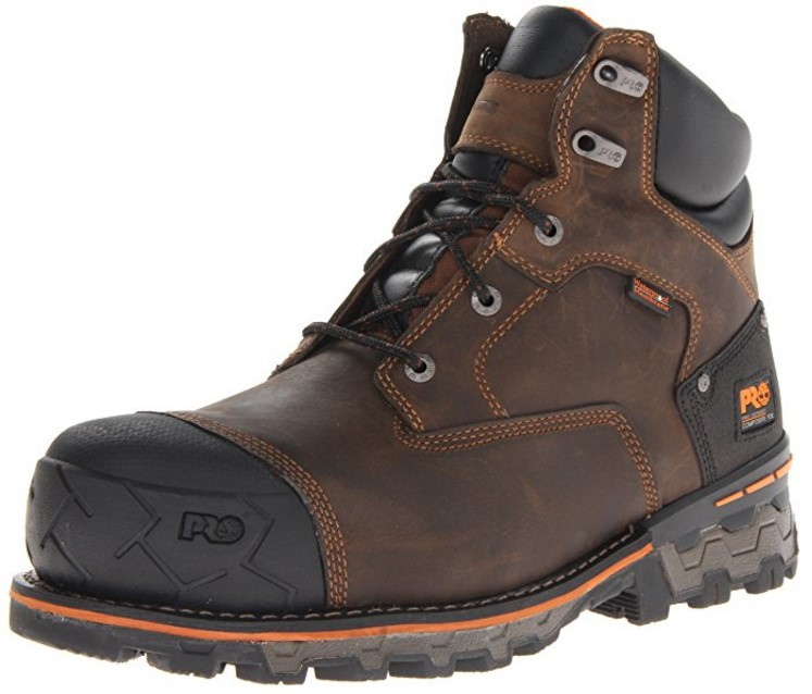 best work boots for standing all day Timberland PRO Boondock Comp Toe WP Insulated Industrial Work Boots