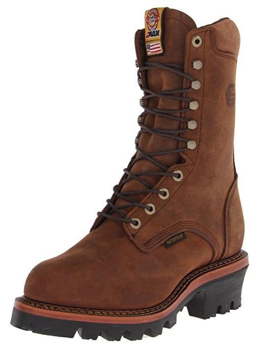 best logger boots Best Price Waterproof Work Boots: Skechers USA Men