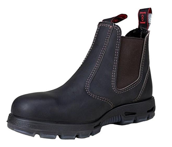 best slip on work boots Most Protective Slip On: Redback Men