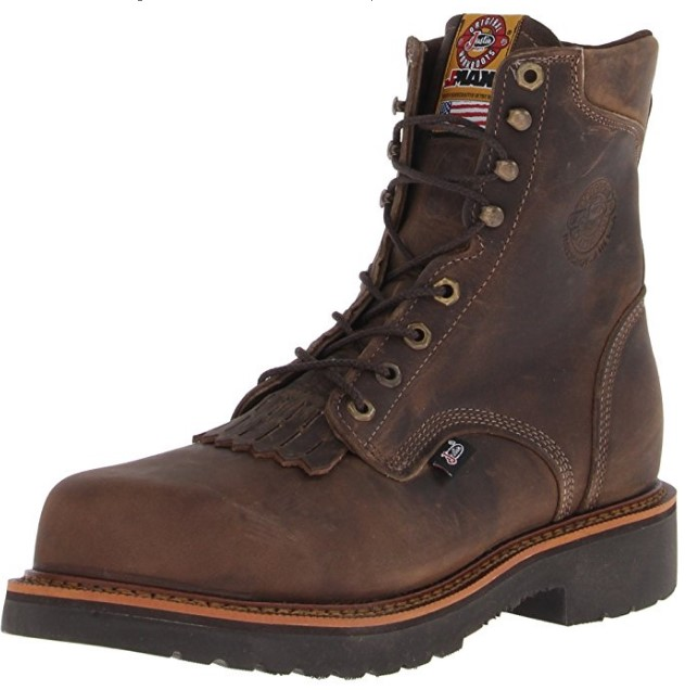 most comfortable composite toe work boots The Best Looking Comfortable Composite Boot: Justin Original Work Boots Men's Jmax Comp Toe Composite Work Boot