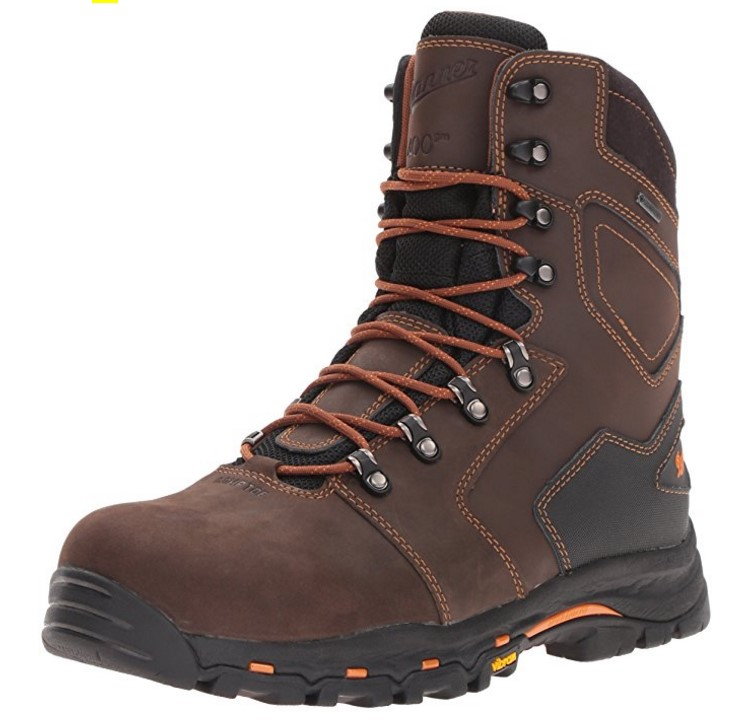 Best Cold Weather Work Boots For Winter 3) Danner Vicious Insulated Work Boots for Winter