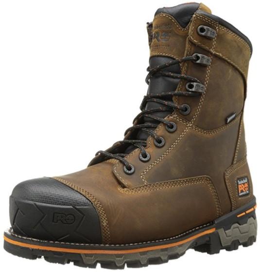 "best waterproof insulated work boots Timberland PRO ""Boondock"" Waterproof Insulated Work Boot W/ Comp or Steel Toe"