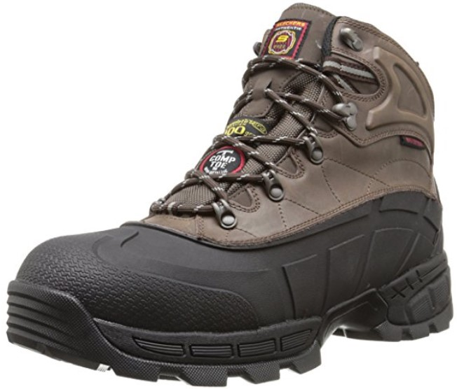 best work boots for standing all day Skechers Radford Work Boots
