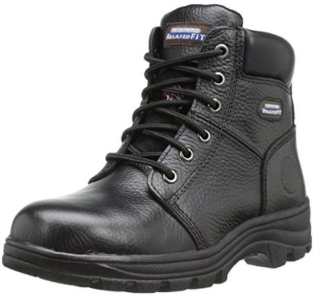 Best Work Boots For Women 1) Skechers for Work Women