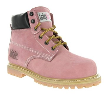Best Work Boots For Women 5) Safety Girl Steel Toe Work Boots