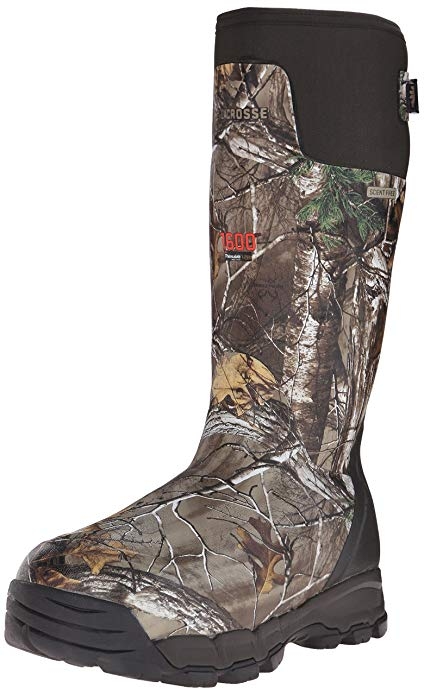 "Warmest Hunting Boots for Cold Weathers #1 Lacrosse Alphaburly Pro 18"" 1600G Hunting Boots"