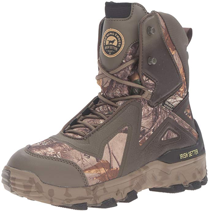 Warmest Hunting Boots for Cold Weathers #2 Irish Setter Vaprtrek 800 Gram Hunting Boots