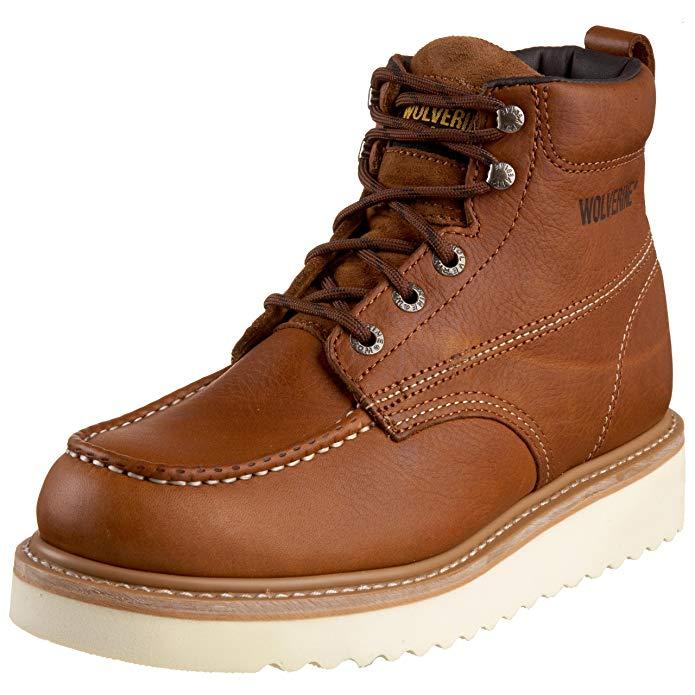 Best Wedge Work Boots 6. Wolverine Men