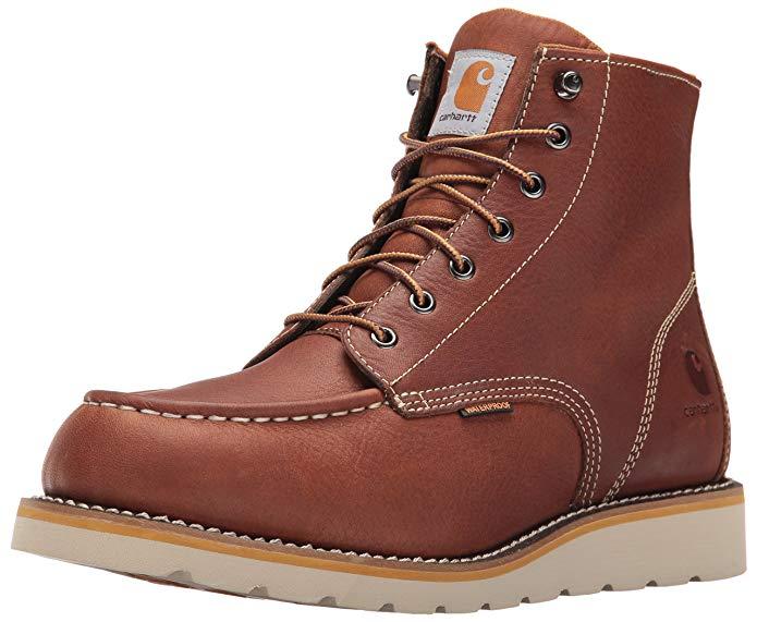 Best Work Boots For Flooring Installers 4) Carhartt Men