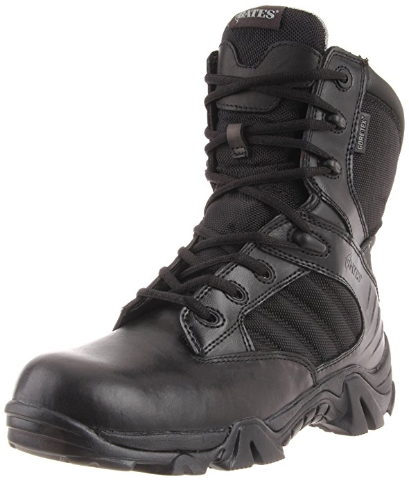 Best Zipper Work Boots 1) Bates Men