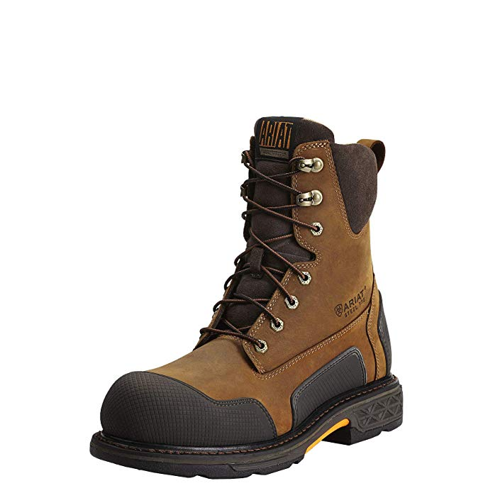 Best Zipper Work Boots 4) Ariat Men