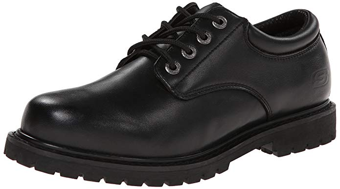 Best Work Shoes For Pharmacist 2) Skechers for Work Cottonwood Elks Slip Resistant Shoes for Pharmacists