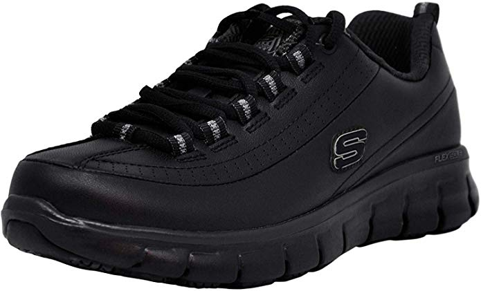 Best Shoes Restaurant Managers 2) Skechers Work Sure Track Trickel Restaurant Manager Shoes