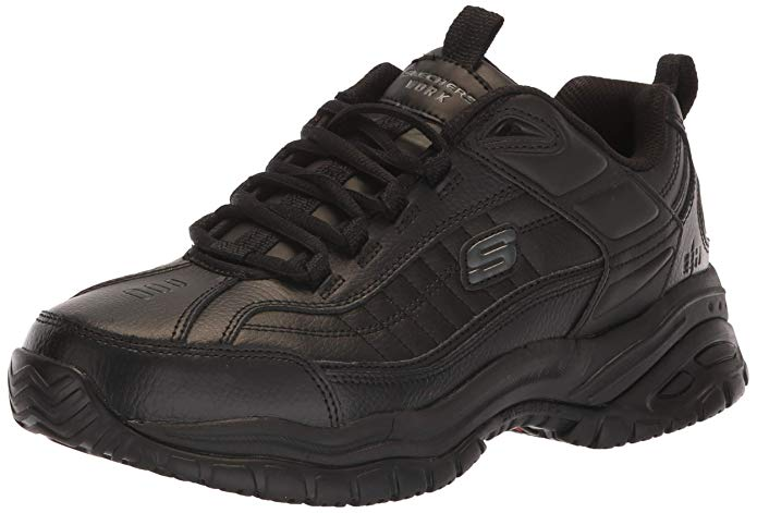 Best Work Shoes For Pharmacist 4) Skechers 76759 Soft Stride Galley Shoes for Pharmacists