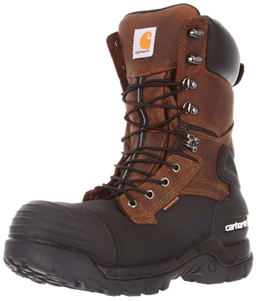 Best Cold Weather Work Boots For Winter 5) Carhartt Waterproof PAC Insulated Work Boots for Winter