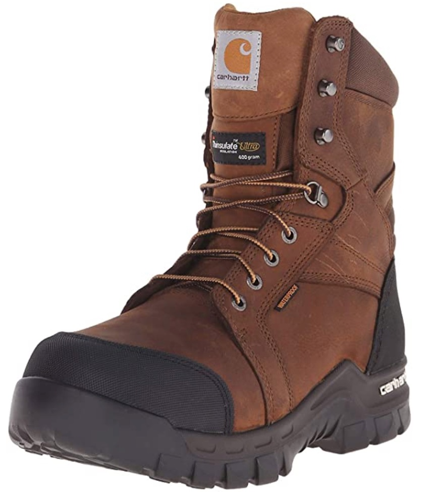 Best Cold Weather Work Boots For Winter 4) Carhartt Ruggedflex Safety Toe Work Boots for Winter