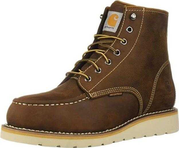 Best Wedge Work Boots 4. Carhartt Men
