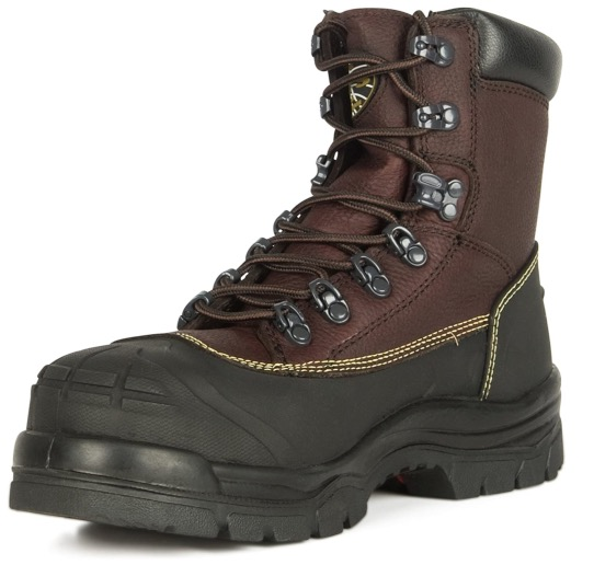 """Best Work Boots For Chemicals 9. Oliver 65 Series 6"""" Leather Chemical-Resistant Puncture-Resistant Steel Toe Men"""